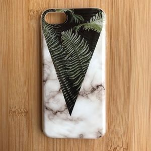 Accessories - NEW Iphone 7/8 Floral Granite Iphone Case